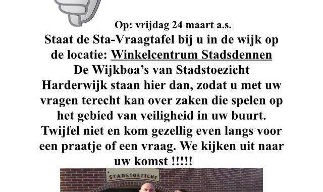 De BOA's Staan Weer In De Wijk!