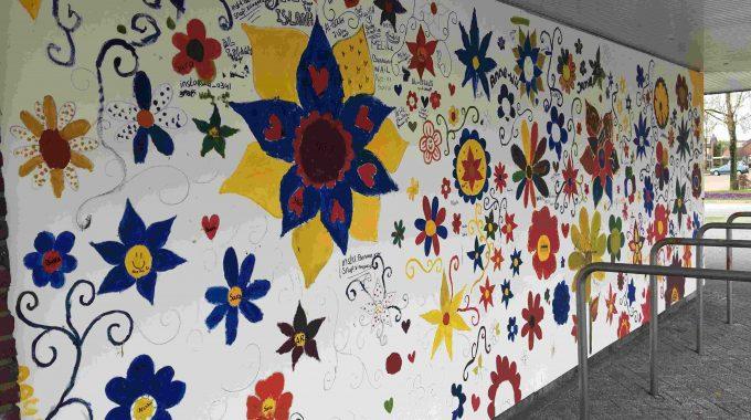 De Stadsdennen Muurschildering