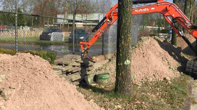 Waterleiding Geraakt Tijdens Werkzaamheden