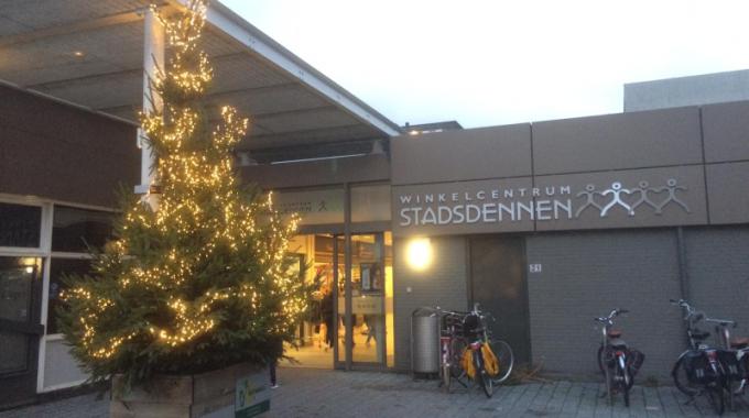 """Onze Kerstboom """"siert"""" Weer"""