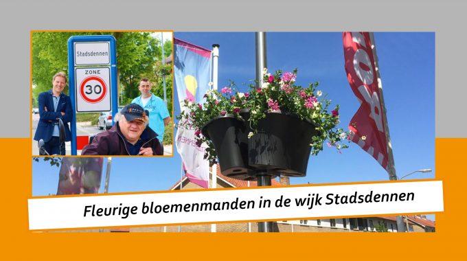 """Bekijk De Video """"Bloemenmanden In De Wijk Stadsdennen"""""""